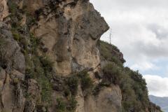 Ingapirca - Cara del Inca