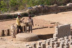 Ambositra to Ranomafana - Brick factory